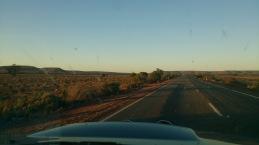 Driving to WA.