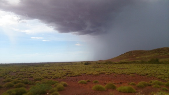 A storm in the Pilbara.